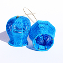 Bells and Baskets: Blue Earrings, 2013