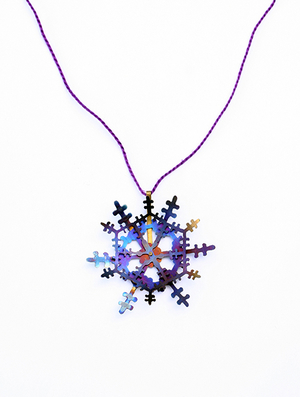 Scar Series: Purple Pendant, 2011