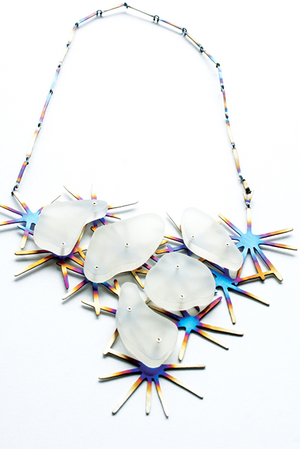 Self Proliferating Patterns: Starburst Neckpiece, 2012