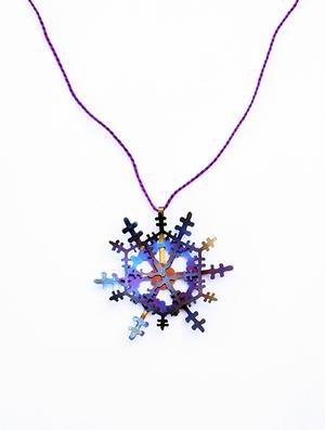 Scar Series: Purple Pendant, 2011