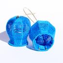 Bells and Baskets: Blue Earrings, 2013