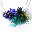 Underwater World: Neckpiece Bluegreen, 2013