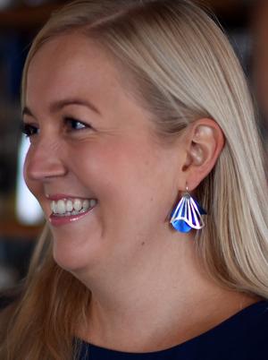 Radiating Swirl Earrings